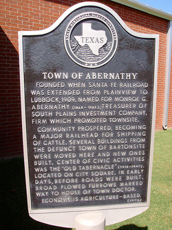 Abernathy chamber of commerce home for Abernathy house